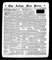 Acton Free Press (Acton, ON), October 16, 1941