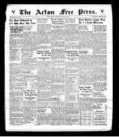 Acton Free Press (Acton, ON), January 15, 1942