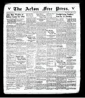 Acton Free Press (Acton, ON), January 22, 1942