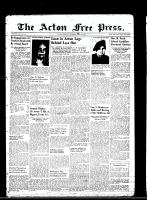Acton Free Press (Acton, ON)3 May 1945