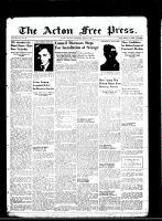 Acton Free Press (Acton, ON)31 May 1945