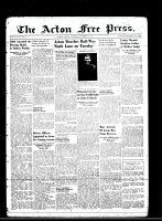 Acton Free Press (Acton, ON)1 Nov 1945