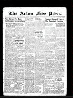 Acton Free Press (Acton, ON)8 Nov 1945