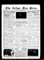 Acton Free Press (Acton, ON)15 Nov 1945