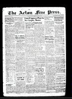 Acton Free Press (Acton, ON)9 May 1946
