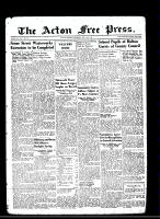 Acton Free Press (Acton, ON)16 May 1946