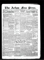 Acton Free Press (Acton, ON)15 Aug 1946