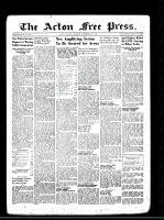 Acton Free Press (Acton, ON)21 Nov 1946