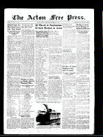Acton Free Press (Acton, ON)5 Dec 1946