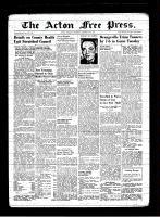 Acton Free Press (Acton, ON), January 30, 1947