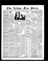 Acton Free Press (Acton, ON)13 Jan 1949