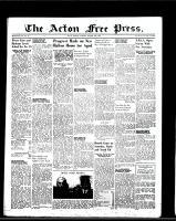 Acton Free Press (Acton, ON), October 13, 1949