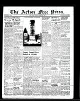 Acton Free Press (Acton, ON)10 Nov 1949