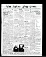 Acton Free Press (Acton, ON), December 1, 1949