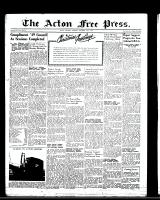 Acton Free Press (Acton, ON)22 Dec 1949