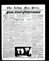 Acton Free Press (Acton, ON)29 Dec 1949