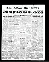 Acton Free Press (Acton, ON)9 Nov 1950