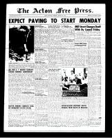 Acton Free Press (Acton, ON), August 9, 1951