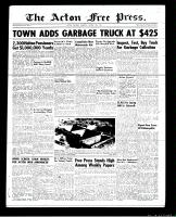 Acton Free Press (Acton, ON), August 16, 1951