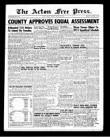 Acton Free Press (Acton, ON), August 30, 1951