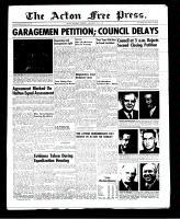 Acton Free Press (Acton, ON)15 Nov 1951