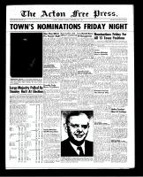 Acton Free Press (Acton, ON), November 29, 1951