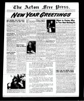 Acton Free Press (Acton, ON), December 27, 1951