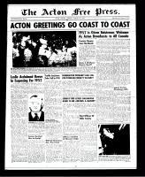 Acton Free Press (Acton, ON)3 Jan 1952
