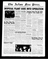 Acton Free Press (Acton, ON)1 May 1952