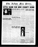 Acton Free Press (Acton, ON)15 May 1952