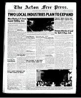 Acton Free Press (Acton, ON)4 Sep 1952