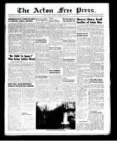 Acton Free Press (Acton, ON)13 Nov 1952