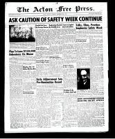 Acton Free Press (Acton, ON)20 Nov 1952