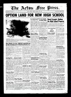 Acton Free Press (Acton, ON)26 Feb 1953