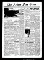 Acton Free Press (Acton, ON)14 May 1953