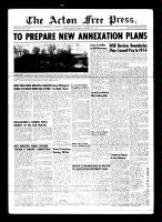 Acton Free Press (Acton, ON)19 Nov 1953