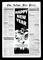 Acton Free Press (Acton, ON)31 Dec 1953