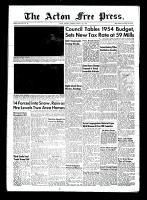 Acton Free Press (Acton, ON), March 11, 1954