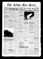 Acton Free Press (Acton, ON)8 Apr 1954