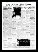 Acton Free Press (Acton, ON)29 Apr 1954