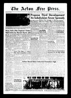 Acton Free Press (Acton, ON)19 Aug 1954