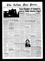 Acton Free Press (Acton, ON)14 Oct 1954