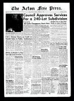 Acton Free Press (Acton, ON)11 Nov 1954