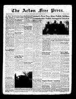 Acton Free Press (Acton, ON)13 Jan 1955
