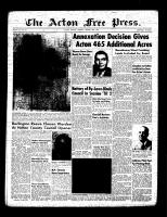 Acton Free Press (Acton, ON)20 Jan 1955