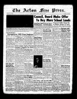 Acton Free Press (Acton, ON)10 Mar 1955