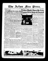 Acton Free Press (Acton, ON), September 8, 1955