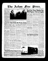 Acton Free Press (Acton, ON)19 Jan 1956