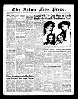 Acton Free Press (Acton, ON)1 Mar 1956