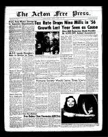 Acton Free Press (Acton, ON)22 Mar 1956